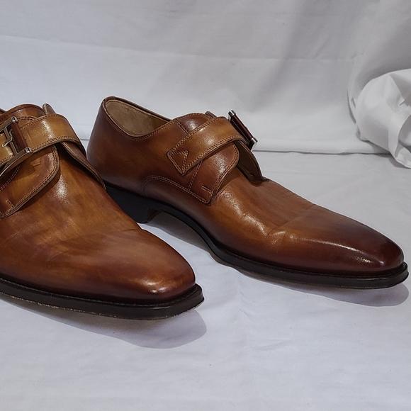 Magnanni Lennon Monk Strap Shoe